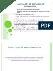 Clasificación de respaldos de información