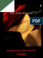 Dua From Al-Quran English