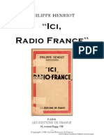 Henriot Philippe - Ici, Radio France (1943)