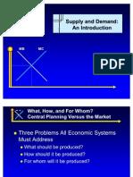 2 Demand & Supply