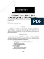 Seismic Shaking Exercise