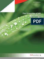 Greening of Hr