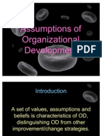 Assumptions of Organizational Development (Nursing Administration 3)
