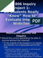 Michelle P_Inquiry Project 1