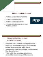 BAB 6 - Teori Pembelajaran