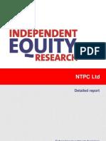 CRISIL Research Ier Report Ntpc 2011