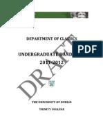 TCDClassicsHandbookDRAFT11-12