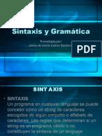 Sintaxis y Gramatica (informatica)