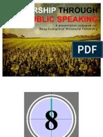 Worship Through Public Speaking 101