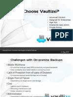 Why Vaultize - Enterprise - Presentation