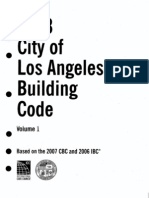 Los Angeles Building Code Vol1