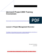 Msproject Course Ware Part 1