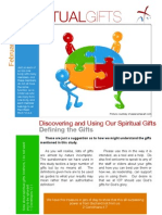 Spiritual Gifts - Definitions