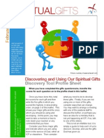 Spiritual Gifts - Discovery Tool