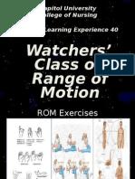Watchers Class