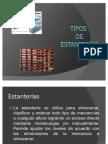 Tipos de Estanterias Expo Sic Ion