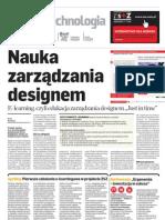 Puls Biznesu 10 2010 Nauka zarządzania designem