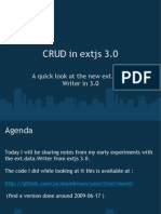 CRUD in Extjs 3 0