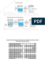 Worksheet Experiment Water Changes State