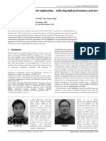 Interface investigation and engineering – achieving high performance polymer