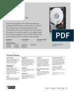 WD AV-GP Specifications