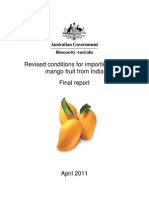 Mangoes From India-Final Revised Conditions