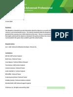 VCAPDCA Exam Blueprint Guide 1.2