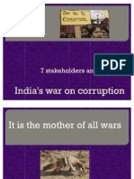 India's War on Corruption