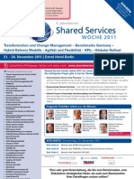 Shared Services Woche 2011