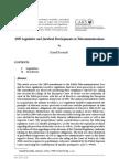 Kosmala - 2009 Legislative and Juridical Developments in Telecommunications