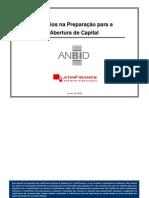 DESAFIOS NA PREPARAÇÃO PARA ABERTURA DE CAPITAL (ANBID)