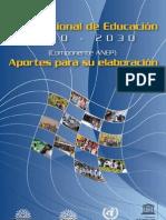 ANEP- Plan Nacional de Educación 2010-2030)[1]