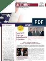 Rep. Heffley Summer 2011 Newsletter