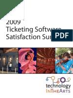 Ticketing Software Satisfaction Survey