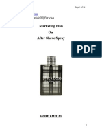 Marketing Management Term Paper (New Product Development After Shve Spray)