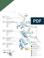 Frankfurt airport layout