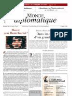 [FR] Le Monde Diplomatique - noiembrie 2009