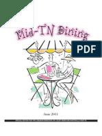 Mid-tn Dining 2011