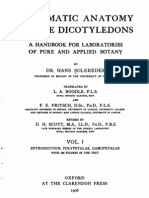 Systematic Anatomy of Dicots