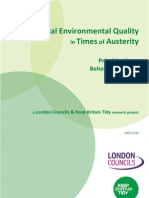 Local Environmental Quality in Times of Austerity