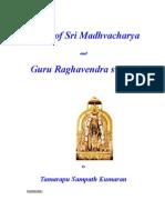 Vision of Sri Madhvacharya and Guru Raghavendra