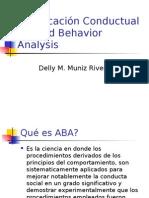 ABA (Clase Dad Por La Terapista Delly Muniz)