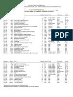 Fall 2011 - Information Studies class schedule
