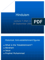 GEK1045 Hinduism Lecture 7