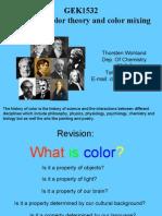 GEK1532 History of Colour