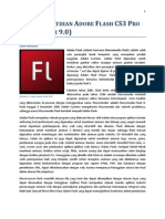 Panduan Latihan Adobe Flash CS3