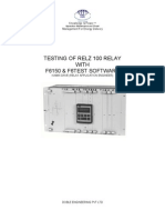 303.Testing of Relz100 With f6150-Distpro