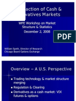 CBOE SPETH_Interaction of Cash & Derivatives Markets