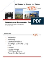 100511 Investing in Geothermal Energy