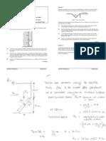 Cive1400 Problem Sheet 200607 Solutions